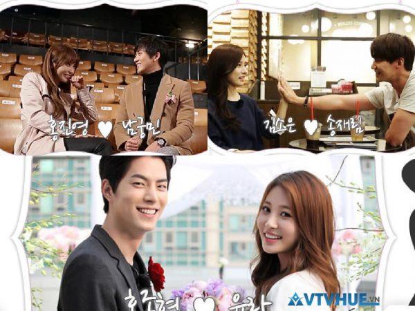 """""""Cập nhật"""" chương trình thực tế Hàn Quốc về cặp đôi hài hước và hấp dẫn"""