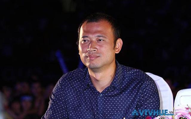 MC Long Vũ của đài truyền hình Việt Nam