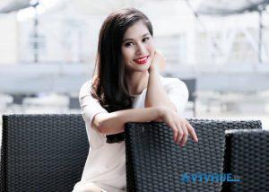 Hình ảnh đời thường BTV Minh Trang thời sự
