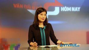 Biên tập viên Diệp Anh đài truyền hình Việt Nam