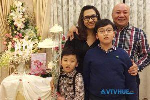 Cuộc sống gia đình biên tập viên Vân Anh